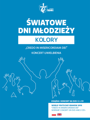 ŚDM – Kolory (niebieski) – książka + koncert na DVD i 2 x CD