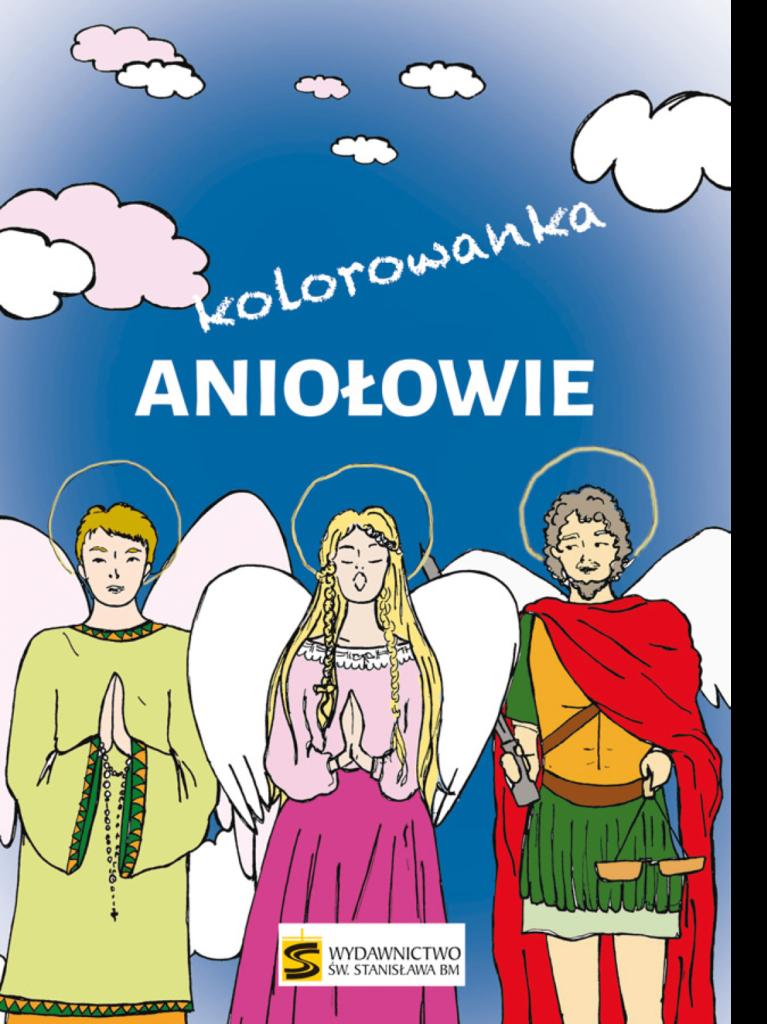 Aniołowie – kolorowanka