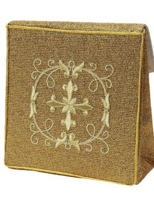 Bursa krzyż ozdobiony haftem