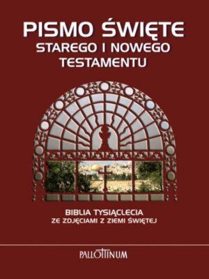 Pismo Święte ze zdjęciami z Ziemi Świętej. Biblia Tysiąclecia