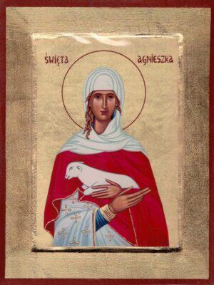 Ikona Święta Agnieszka