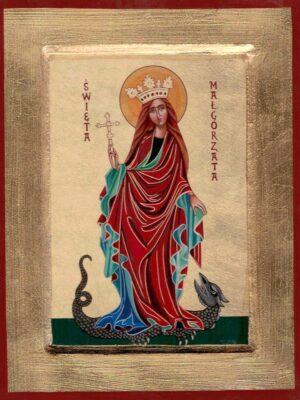 Ikona Święta Małgorzata