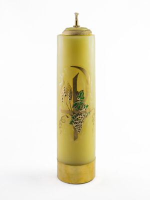 Świeca olejowa Pax żółta