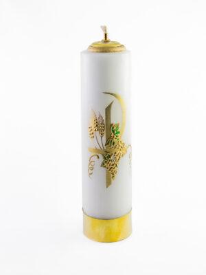 Świeca olejowa Pax biała