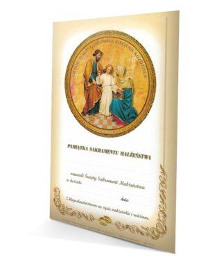 Sakrament małżeństwa - dyplom