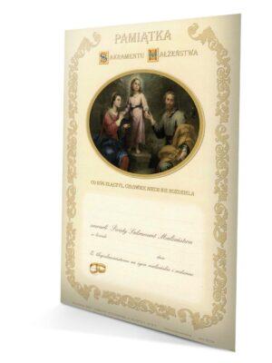 Sakrament małżeństwa - dyplom 1