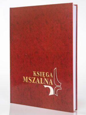 Księga Mszalna - mała bordowa