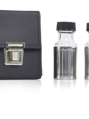 Butelki na oleje - zestaw podwójny mały
