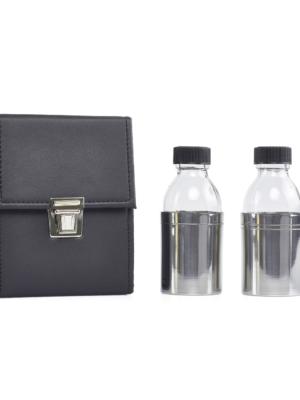 Butelki na oleje - zestaw podwójny duży