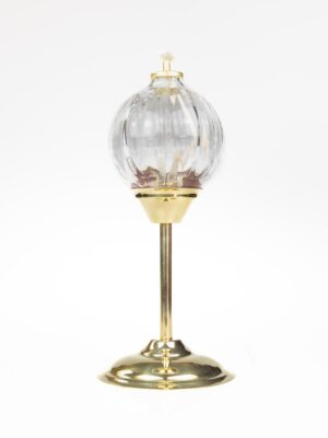 Lampka wieczna oliwna na wysokiej nóżce