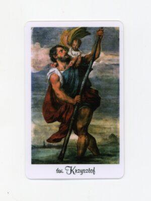 Karta - św. Krzysztof