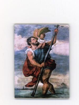 Ikonka - św. Krzysztof