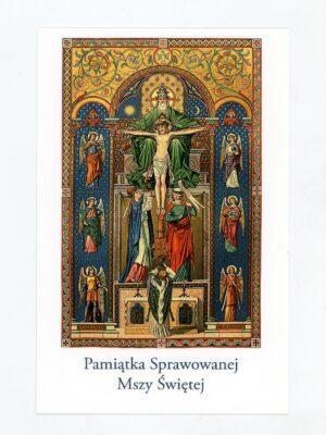 Obrazki intencji Mszy Świętej - wzór 1