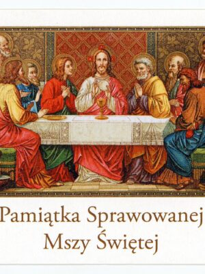 Obrazki intencji Mszy Świętej - wzór 10