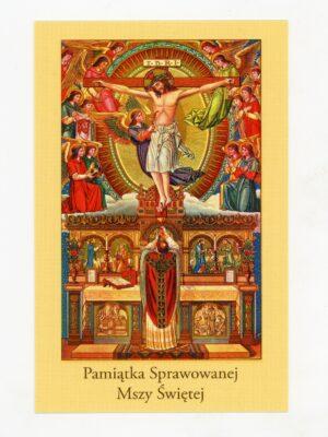 Obrazki intencji Mszy Świętej - wzór 2
