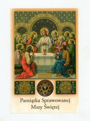 Obrazki intencji Mszy Świętej wzór 3