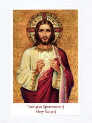 Obrazki intencji Mszy Świętej - wzór 5