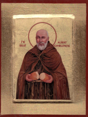 Ikona Święty Brat Albert Chmielowski