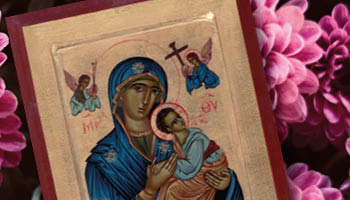 Ikona Matki Bożej Nieustającej Pomocy. Symbolika