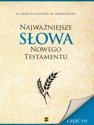 Najważniejsze Słowa Nowego Testamentu część VII