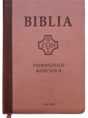 Biblia Pierwszego Kościoła, róż wenecki z paginatorami i suwakiem