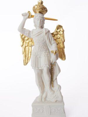 Figurka Świętego Michała Archanioła z Gargano