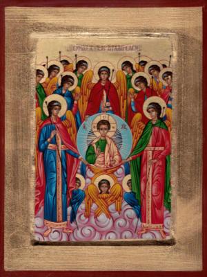 Synaksa Archaniołów z Jezusem