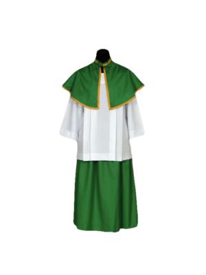 Sutanela dla ministranta - kolor zielony