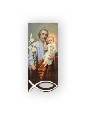 Zakładka ze świętym Józefem manetyczna