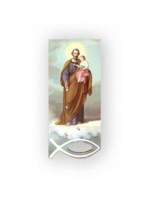 Zakładka ze świętym Józefem magnetyczna