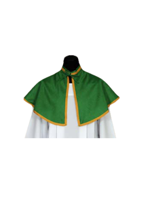 pelerynka dla ministranta kolor zielony
