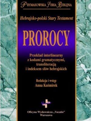 Hebrajsko-polski Stary Testament – Prorocy