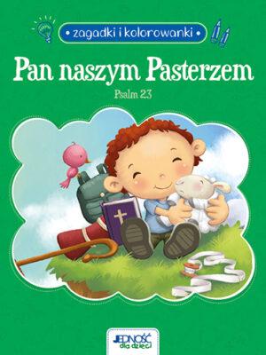 Pan naszym Pasterzem. Psalm 23. Zagadki i kolorowanki