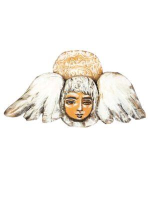 Aniołek na drewnie