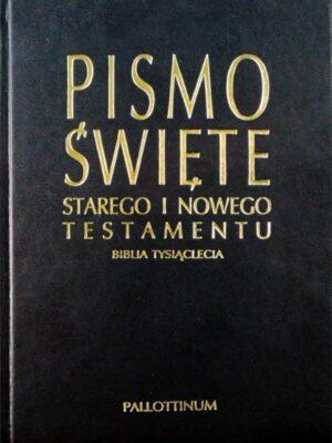 Biblia Tysiąclecia - Pismo Święte Starego i Nowego Testamentu w eko-oprawie z paginatorami