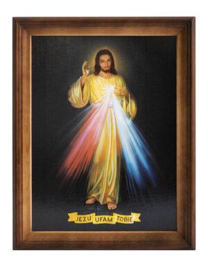 """Obraz """"Jezu ufam Tobie"""""""