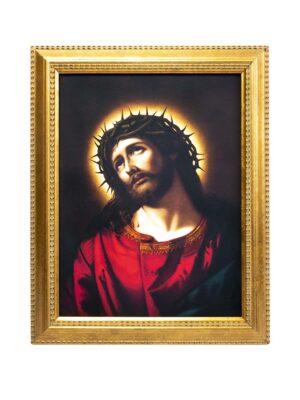 Obraz Jezus w koronie cierniowej
