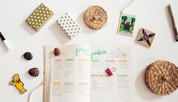 Planer – elementy, listy, kolekcje #zaplanujswójczas