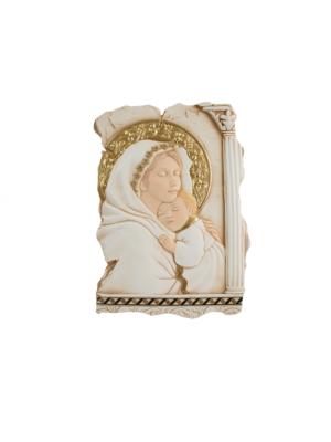 Płaskorzeźba Matka Boża z Dzieciątkiem