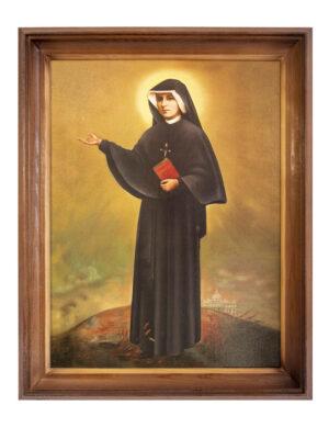 Obraz święta Faustyna