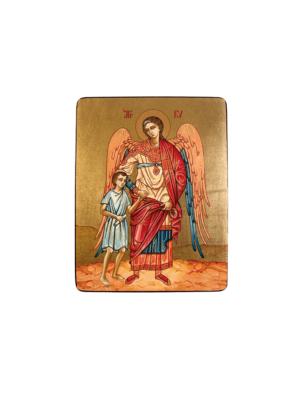 Ikona Anioł Stróż z Dzieckiem