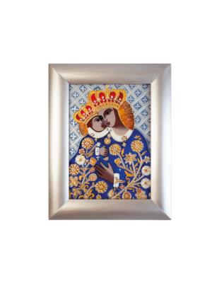 Obraz malowany na szkle Matka Boża z Dzieciątkiem