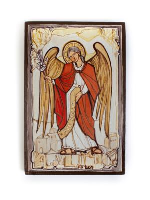 Obraz na drewnie Archanioł Gabriel
