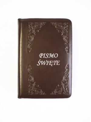 Pismo Święte - brązowa okładka