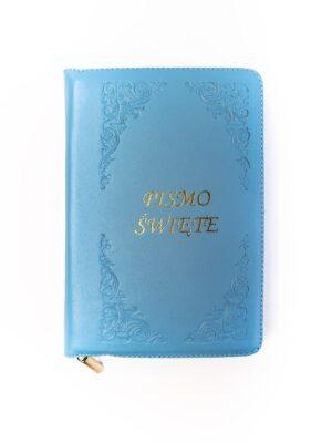 Pismo Święte - niebieska okładka