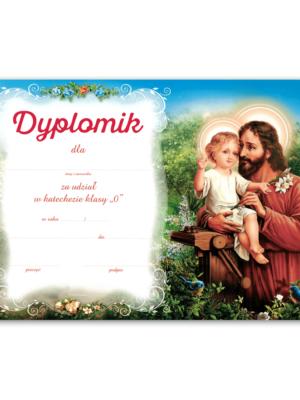 Dyplom ukończenia katechezy