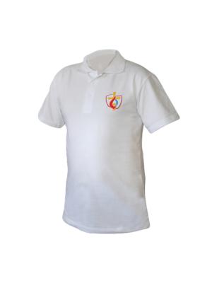 Koszulka polo damska ŚDM biała