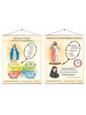 Banery katechetyczne - Różaniec Święty
