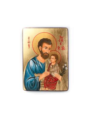 Ikona święty Józef z Jezusem