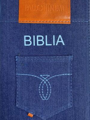 Pismo Św. ST i NT (format oazowy w etui jeansowym)